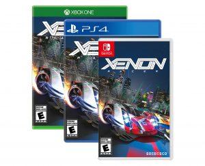 Xenon Racer Boxart