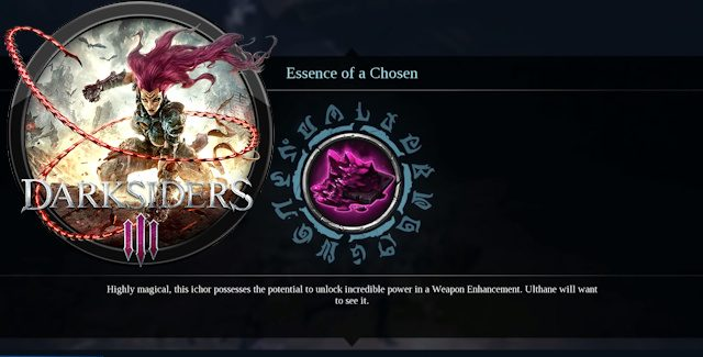 Darksiders 3 Essence of a Chosen Locations Guide