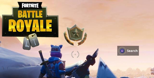 Fortnite Season 7 Week 1 Challenges Battle Star Treasure Map Crown