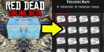 Red Dead Redemption 2 Online Treasure Maps Locations Guide