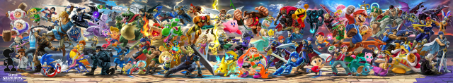 Super Smash Bros Ultimate Full Lineup