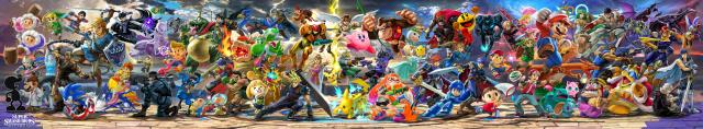 Super Smash Bros Ultimate Full Lineup