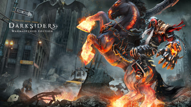 Darksiders Warmastered Edition Switch Key Art