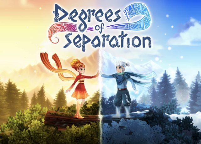 Degrees of Separation Key Art