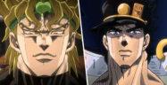 Dio and Jotaro Banner