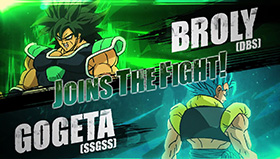 Dragon Ball FighterZ Season 2 Broly Movie Cogeta Blue