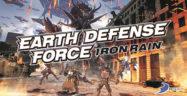 Earth Defense Force Iron Rain Key Art Logo