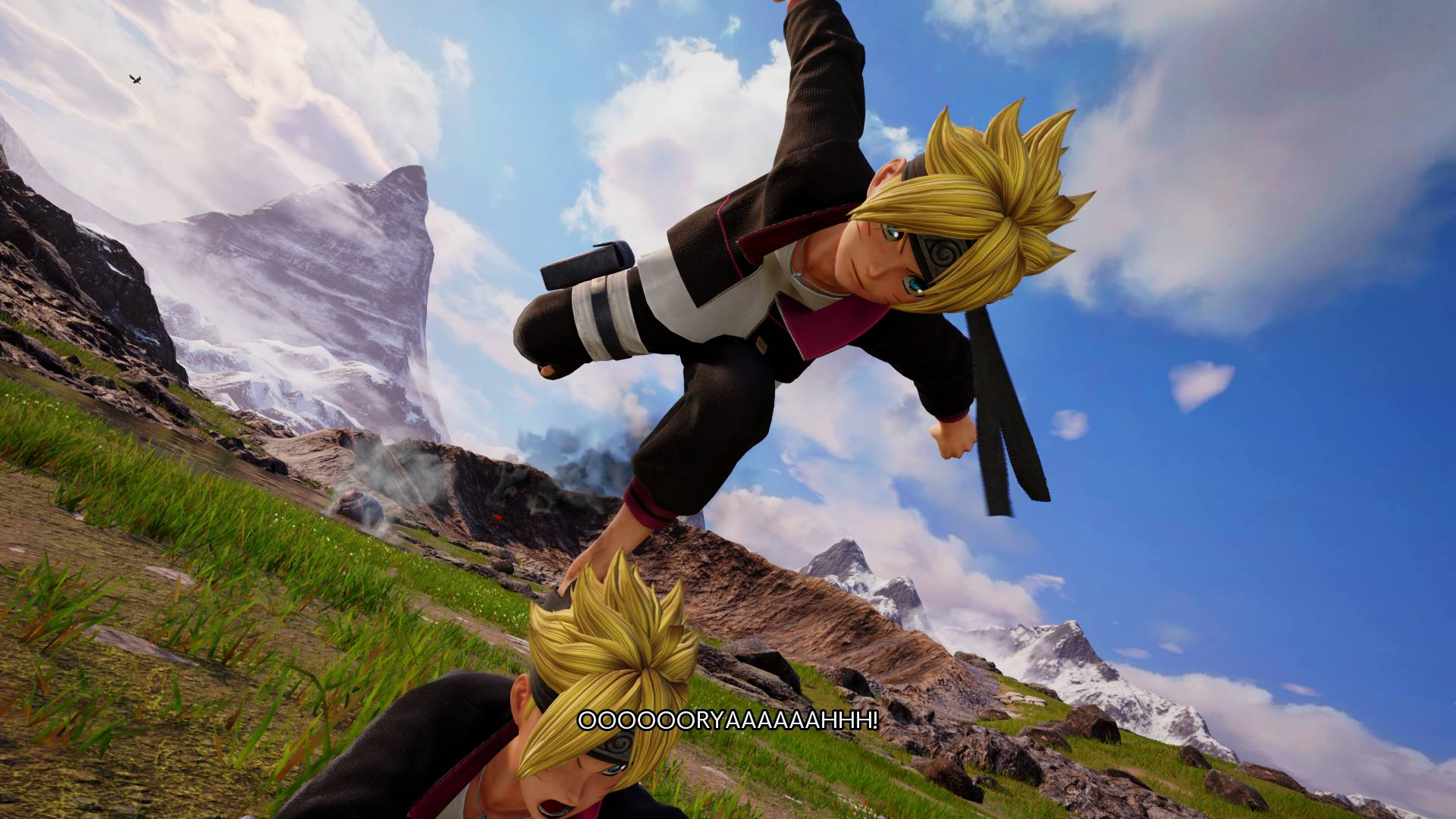 Jump Force Boruto Uzumaki Screen 3