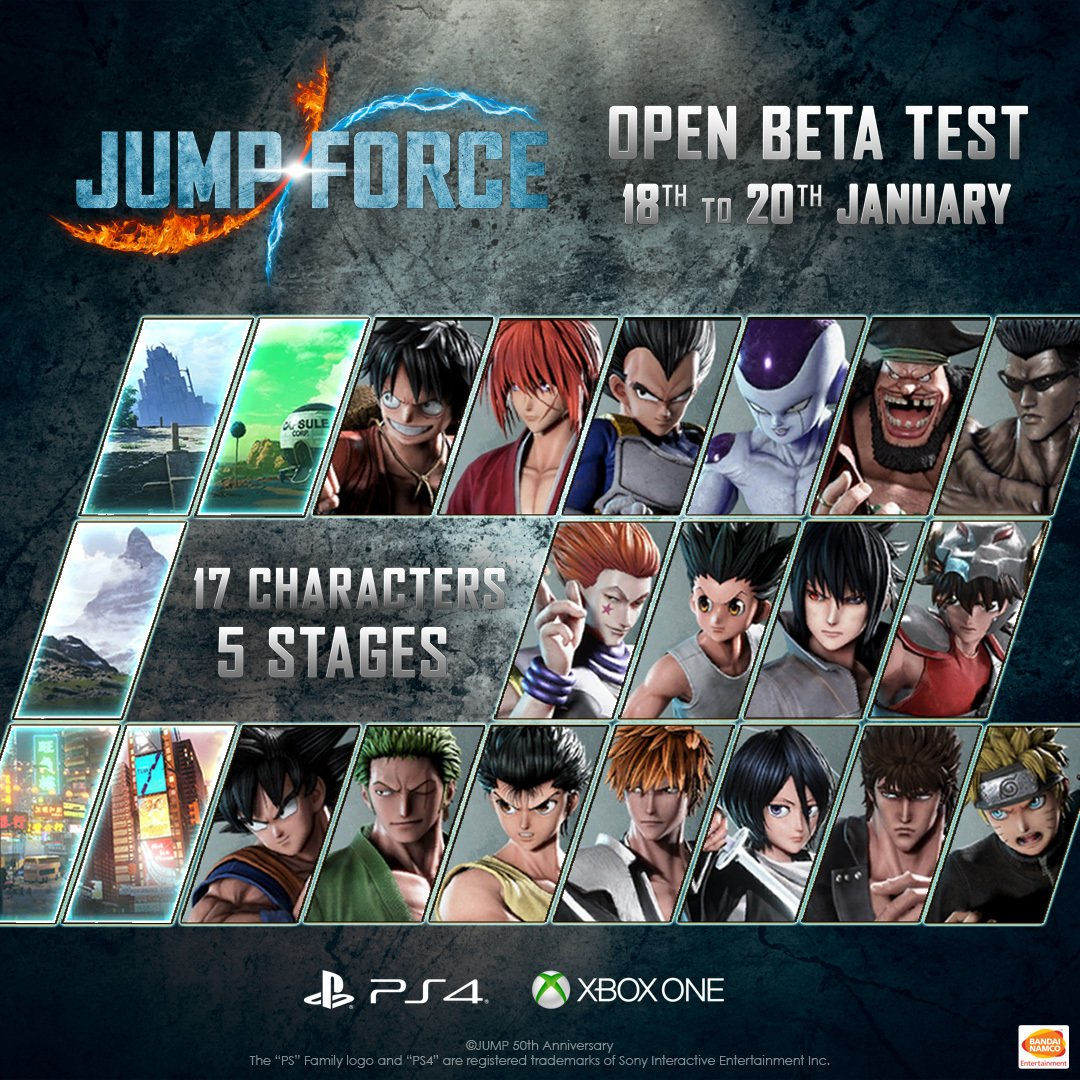 Jump Force Open Beta 1