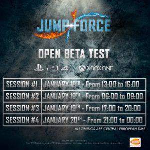 Jump Force Open Beta 2