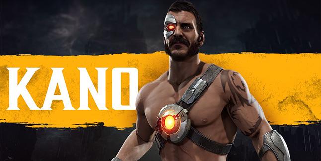 Kano Mortal Kombat 11 Banner