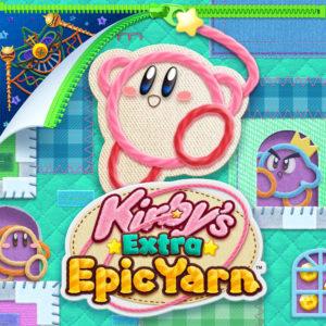Kirby's Extra Epic Yarn Key Art
