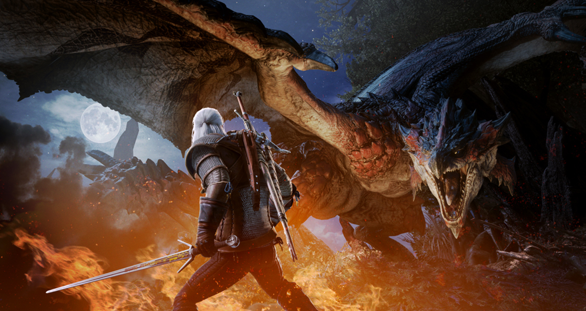 Monster Hunter World x The Witcher 3 Collaboration