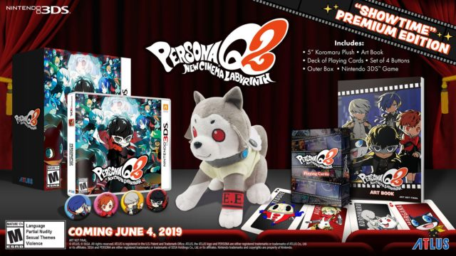 Persona Q2 New Cinema Labyrinth Showtime Premium Edition