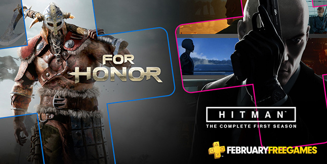 PlayStation Plus Free Games for February Banner