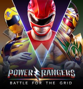 Power Rangers Battle for the Grid Key Visual