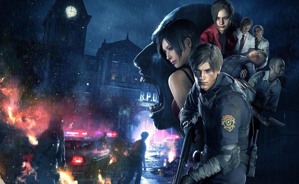 Resident Evil 2 Key Visual