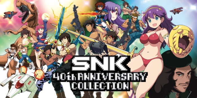 SNK 40th Anniversary Collection Banner