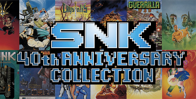 SNK 40th Anniversary Collection Logo