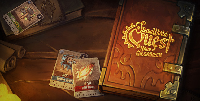 SteamWorld Quest Hand of Gilgamech Banner