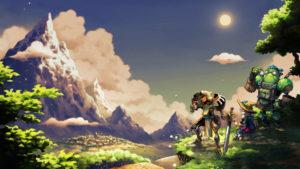 SteamWorld Quest Hand of Gilgamech Key Art