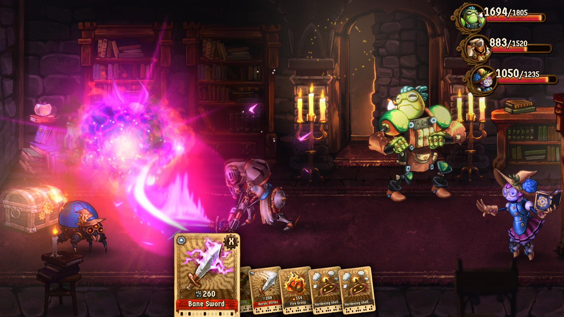SteamWorld Quest Hand of Gilgamech Screen 1