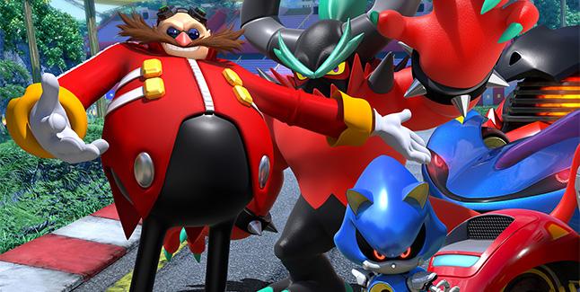 Team Sonic Racing Team Dr Eggman Banner