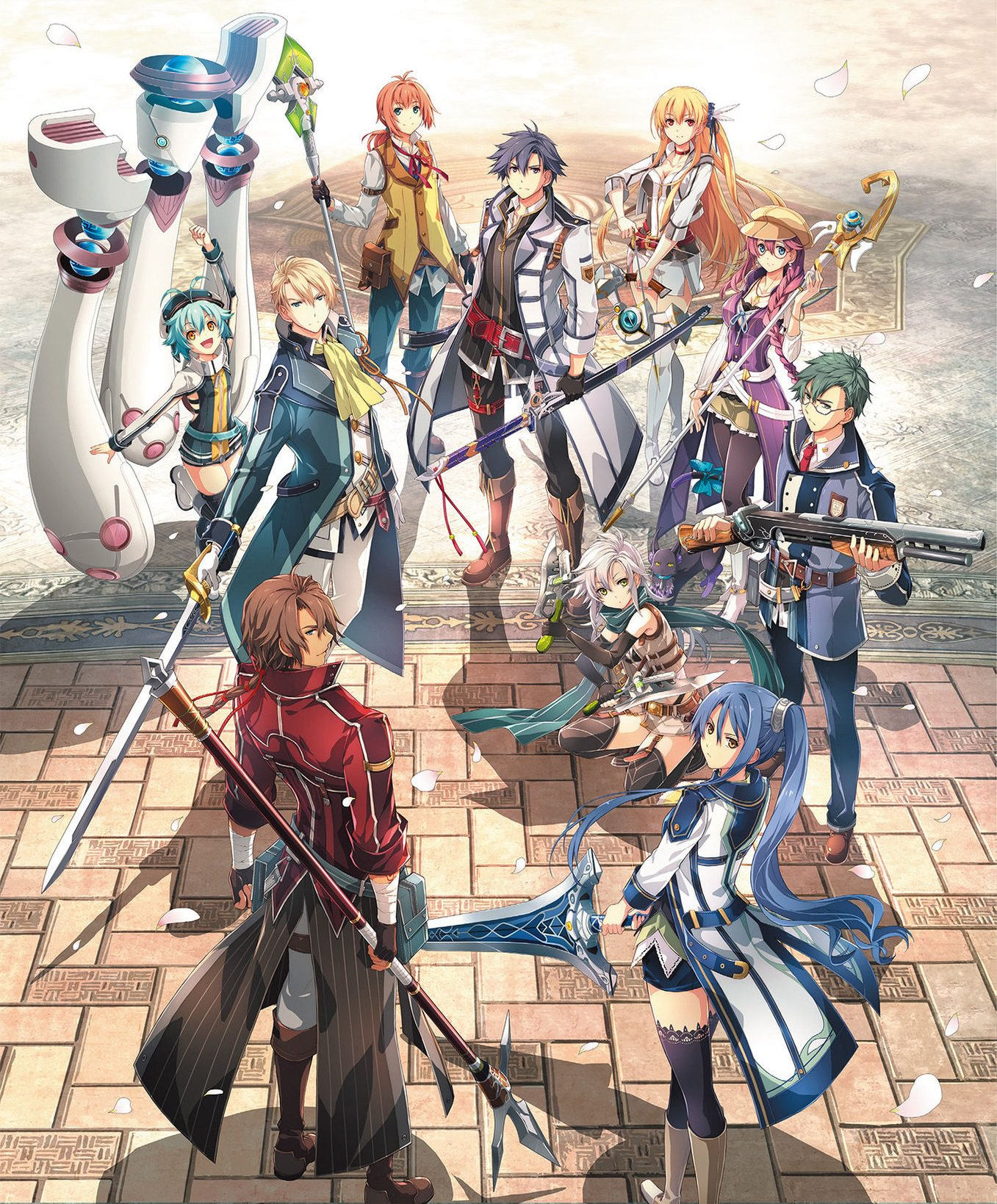 The Legend Of Heroes Trails Of Cold Steel Iii Key Visual