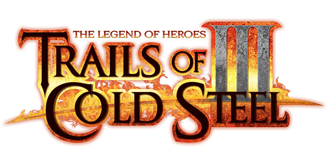 The Legend of Heroes Trails of Cold Steel III Logo