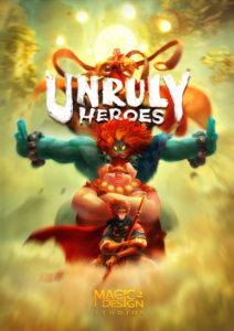 Unruly Heroes Key Art