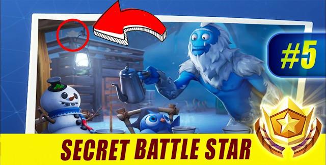 Fortnite Season 7 Week 5 Challenges Battle Star Treasure Map
