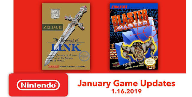 Nintendo Switch Online games for January 2019 lineup