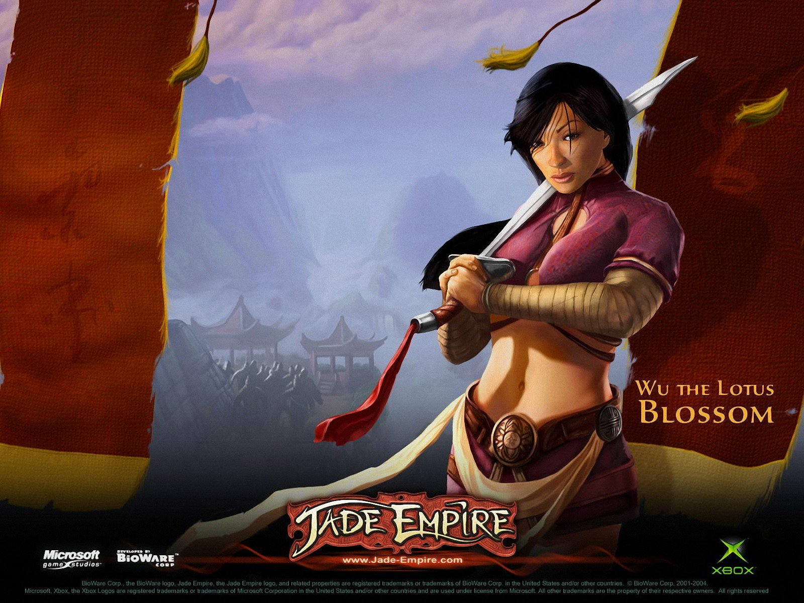 Jade Empire Original Ad HQ