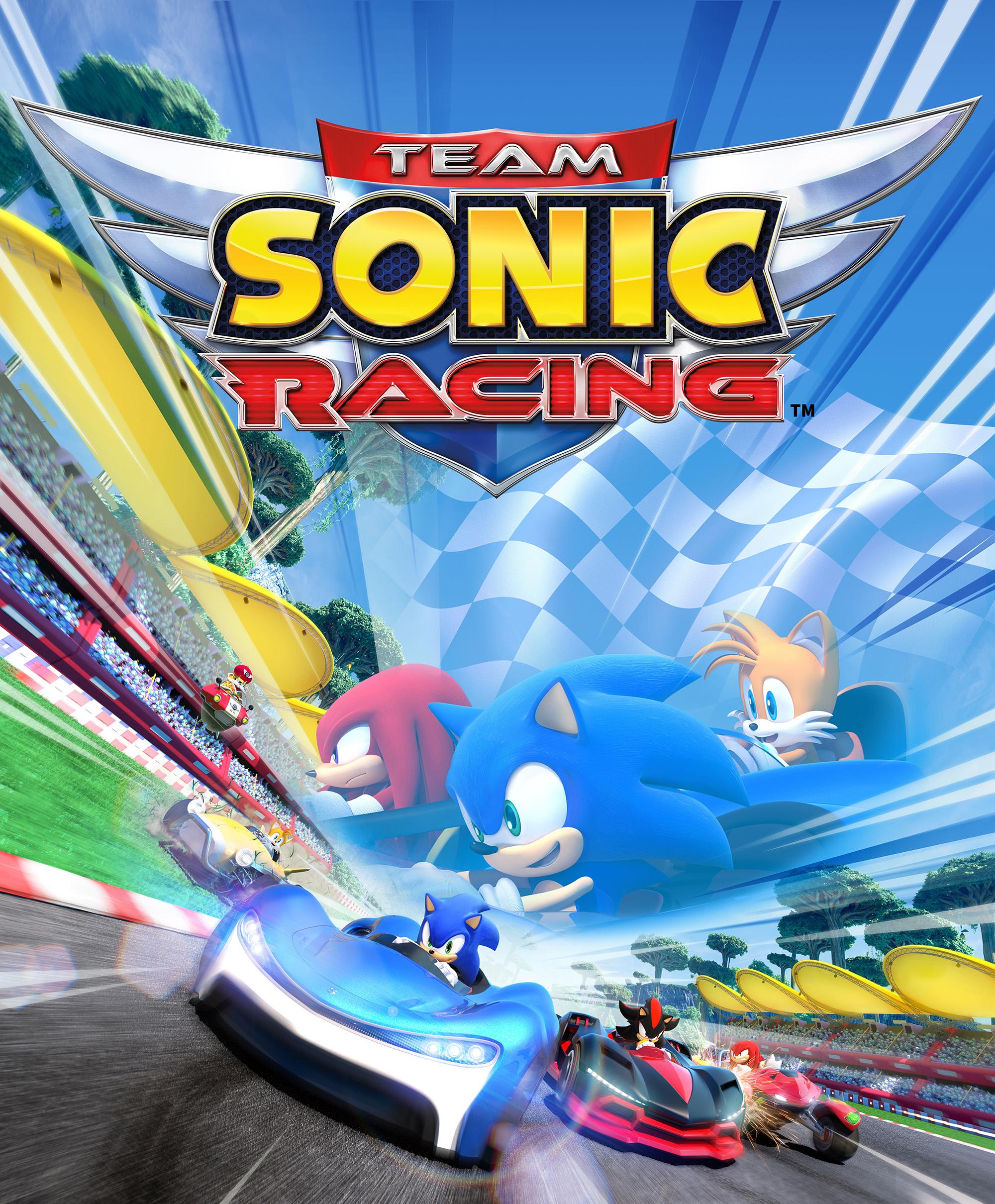 Team Sonic Racing Key Visual
