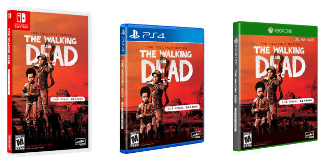 The Walking Dead The Telltale Series The Final Season Boxarts