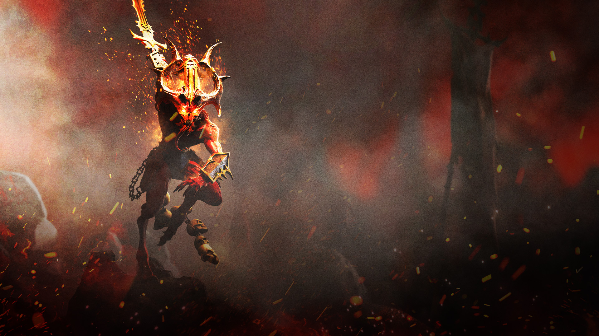Warhammer Chaosbane Bloodletter Art