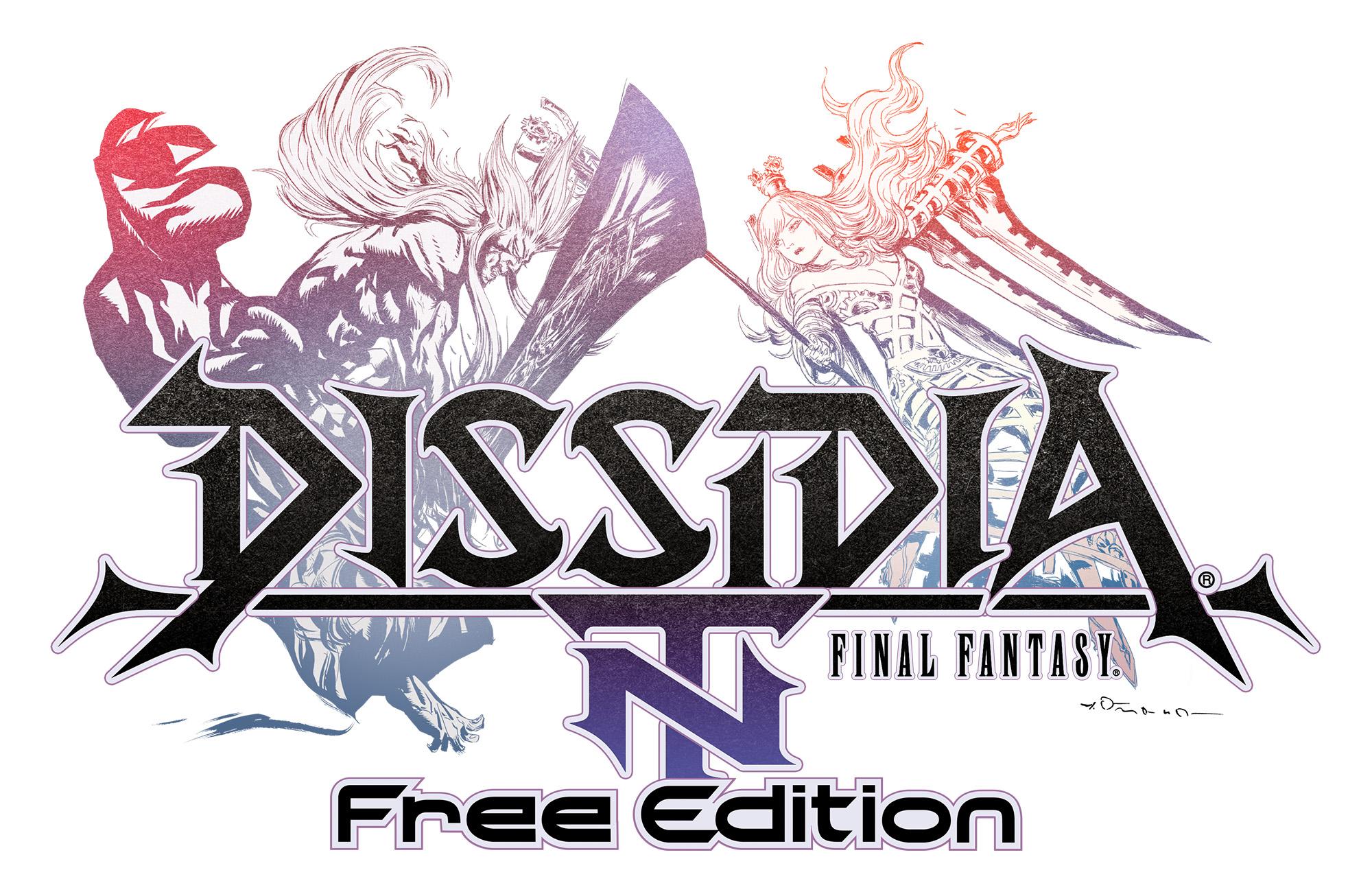 Dissidia Final Fantasy NT Free Edition Logo