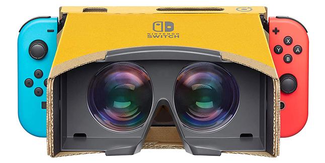 Nintendo Labo Toy-Con 04 VR Kit Banner