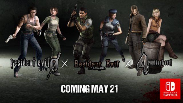 Resident Evil Switch Banner