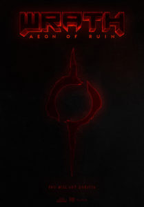 Wrath Aeon of Ruin Poster