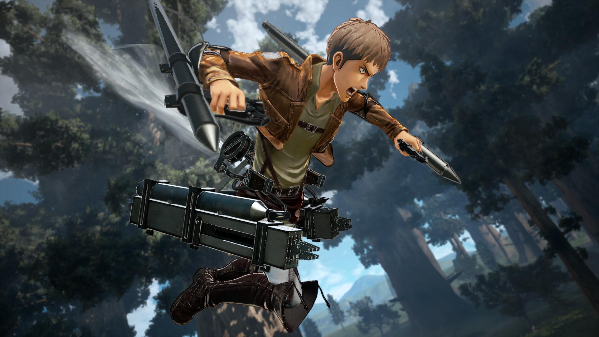 Attack on Titan 2 Final Battle Screen 4