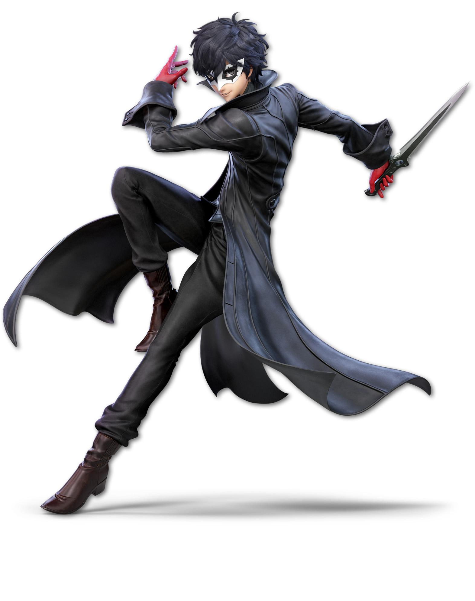 Super Smash Bros Ultimate Joker Render 1