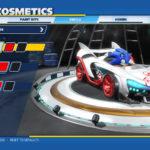 Team Sonic Racing Customization Screen 1
