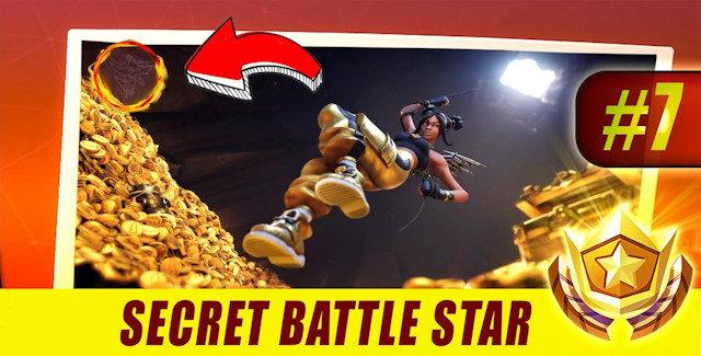 Fortnite Season 8 Week 7 Secret Battle Star Location