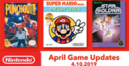Nintendo Switch Online Games for April 2019 Lineup