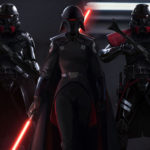 Star Wars Jedi: Fallen Order Purge Troopers and Imperial Inquisitor Second Sister artwork