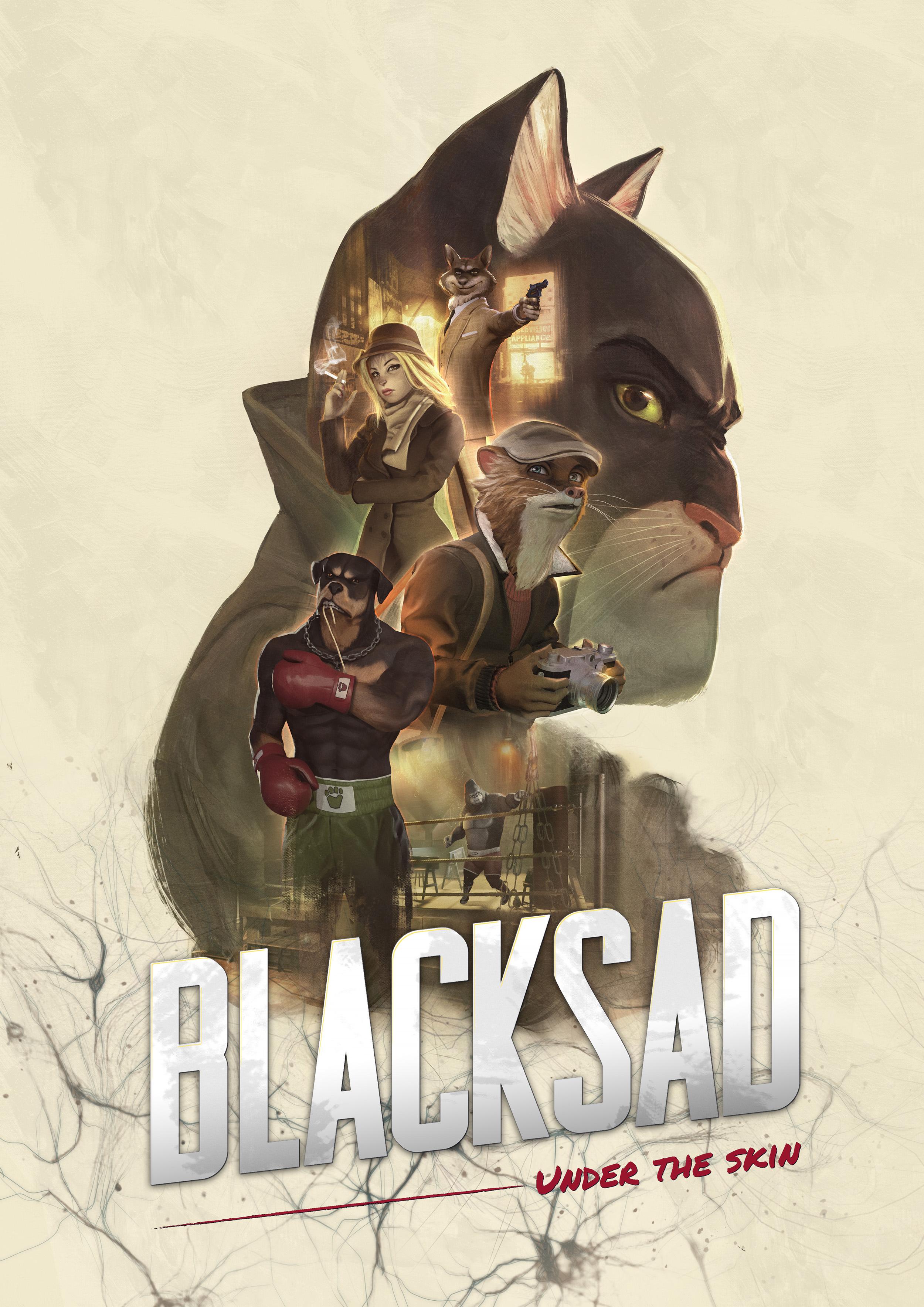 Blacksad UnderThe Skin Key Art 2