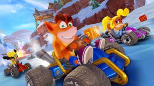 Crash Team Racing Nitro-Fueled Adventure Mode Screen 1