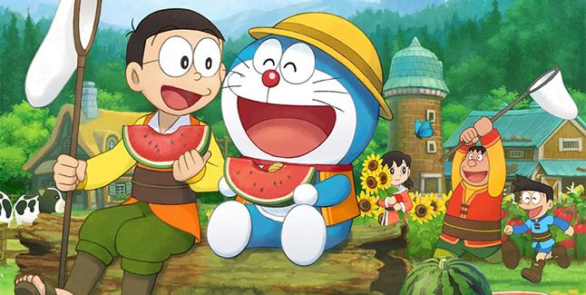 Doraemon Story of Seasons Banner