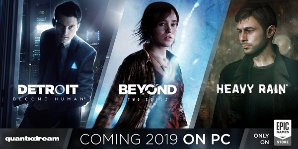 Heavy Rain Beyond Two Souls and Detroit for PC Banner
